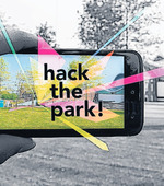"Augmented Reality hackathon ""Hack the park"" Chassé Park in Breda"