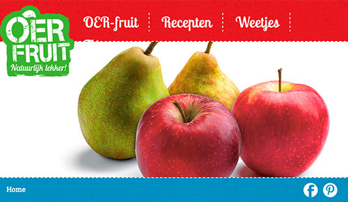 Responsive webdesign OER-fruit